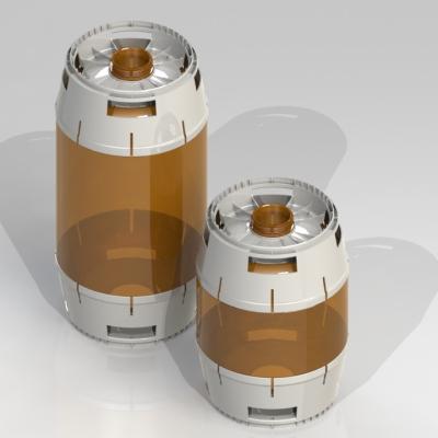 CYPET Beer PET Kegs Product Design