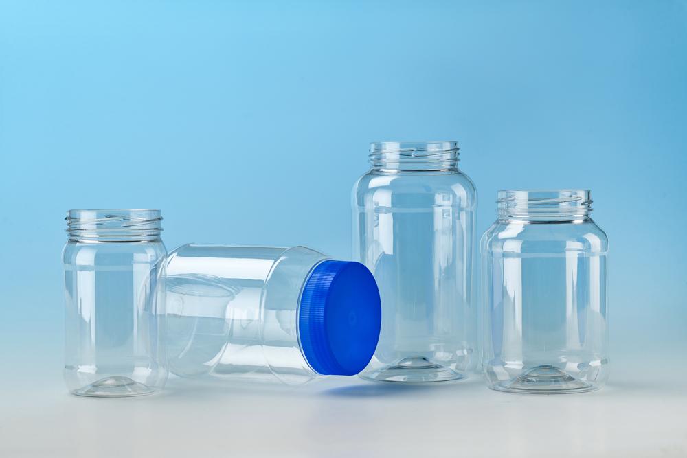CYPET PET Round Jars