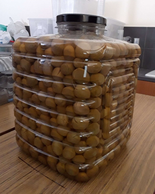 CYPET Stackable PET olive jar