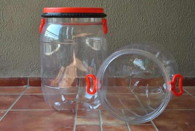 CYPET 50 liter PET drum